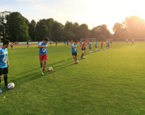 Koordinative Übungen mit Ball