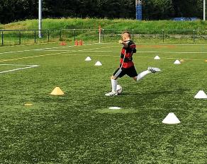 Gesundheit von Kindern beim Fußballspielen