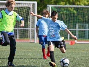 Fußball im Fußball Feriencamp