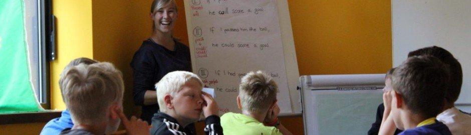 Englisch-Workshops, die Spaß machen