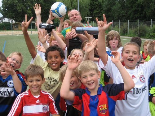 Englisch lernen im Fußballcamp