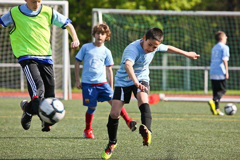 Ferienlager mit Fußball