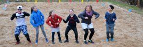 Gruppe Spaß Sportcamp