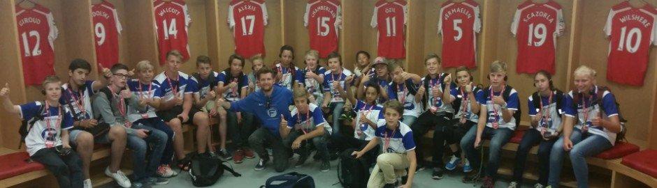 Fußballcamp mit Stadiontour