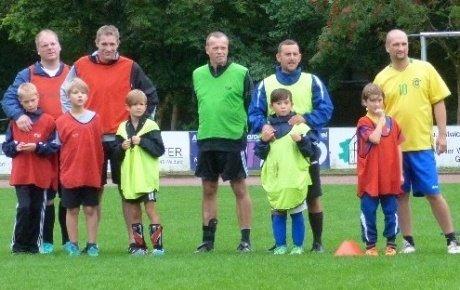 Vater-Sohn Fußballcamps