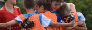 Kinder freuen sich - Fußballcamps