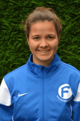 Trainerin Anna-Sophie