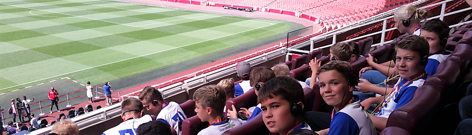 Fußballcamp London mit Stadiontour