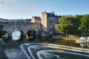 Stadt, Bath, UNESCO Weltkulturerbe