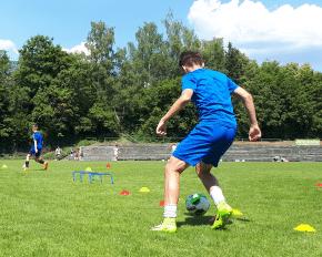 Fußballtraining Wiehl