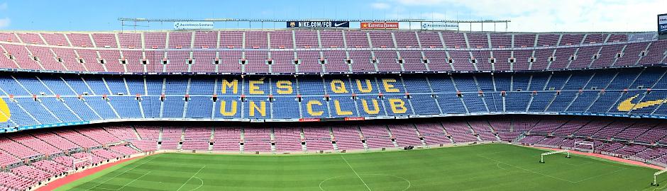 Erlebe Barcelona und das Camp Nou
