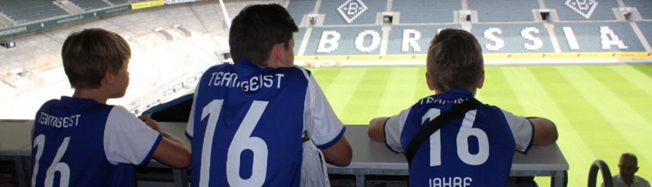 Fußballcamp mit Stadionbesichtigung