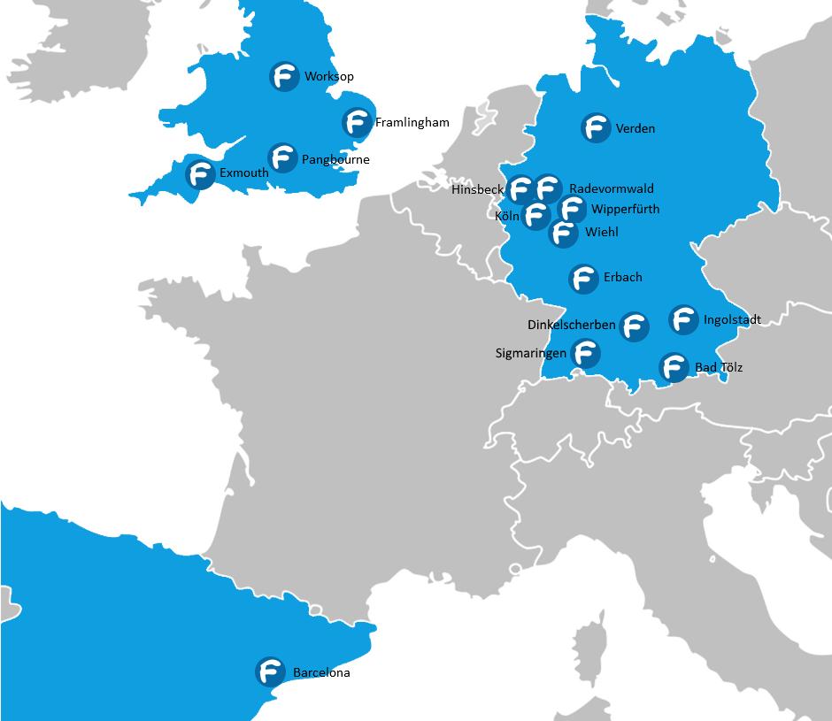 Standorte Ferienfussball