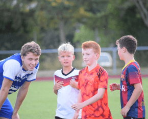 Coaching in Coaching Fußballcamps in den Osterferien 2018