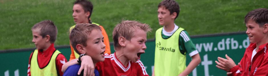Spaß am Fußballcamp Herbstferien