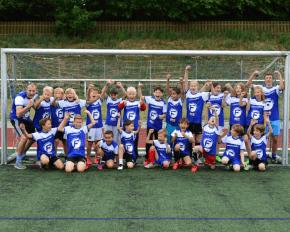 Gruppen bei den Fußballcamps in den Osterferien 2018