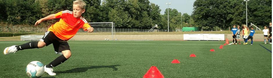 Junior Camp Erbach Fußballplatz