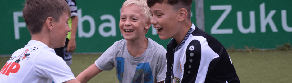 Spaß im Fußballcamp