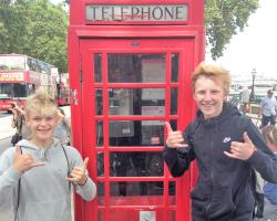 London Ausflug in der Fußballreise nach England