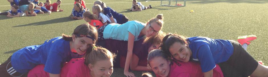 Spaß & Freude im Fußballcamp