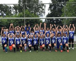 Mädchen Profi Sommercamps 2017 Fußball Gruppenbild