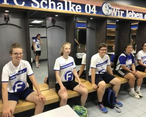 Stadiontour Mädchen