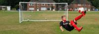Gute Laune nicht nur auf dem Fußballplatz