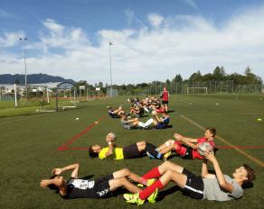 Athletiktraining im Fußball