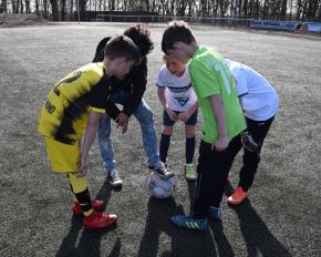 Fußball Strategie besprechen