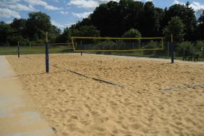 Schullandheim Dinkelscherben Beachvolleyballplatz