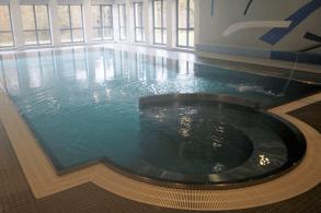 Hallenbad samt Whirlpool im Schullandheim Dinkelscherben