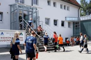 Eingang der Jugendherberge Sigmaringen