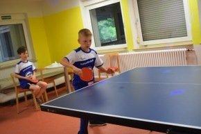 Tischtennisraum in der Unterkunft Sigmaringen