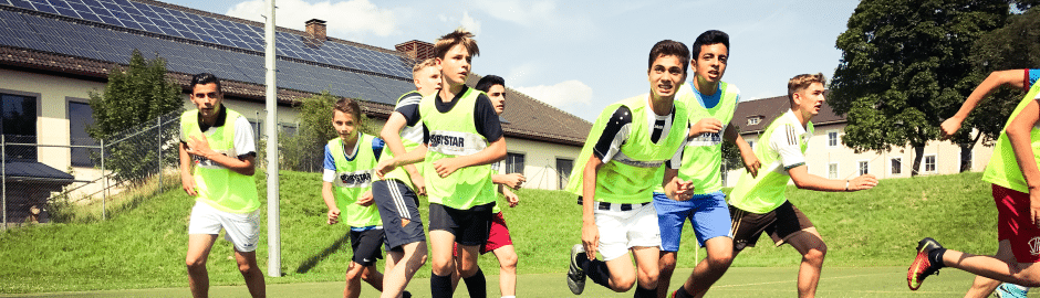 Fußballtraining täglich