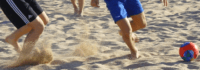 Sonne, Strand und Fußball in Spanien