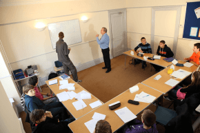 Englischunterricht in der Mountlands Language School