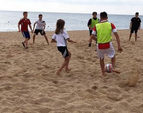 Fussballcamp in Spanien