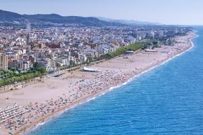Strandpromenade Calella