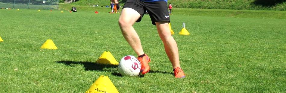 Techniktraining im Fußball