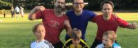 Fußballspaß für Väter & Kinder