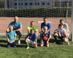 Teamwork Fußball