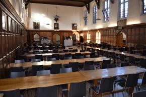 Einer der Essensräume im einmaligen Framlingham College