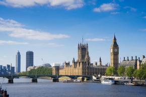 London-Ausflug als Teil des Feriencamps in England