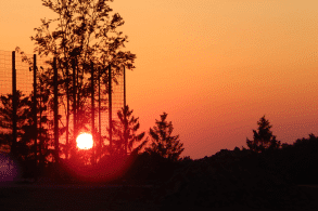 Sonnenuntergang Radevormwald