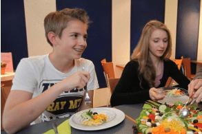 Essen an der Jugendherberge Wiehl