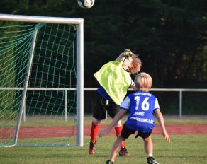 Fußballtraining JH Wipperfürth